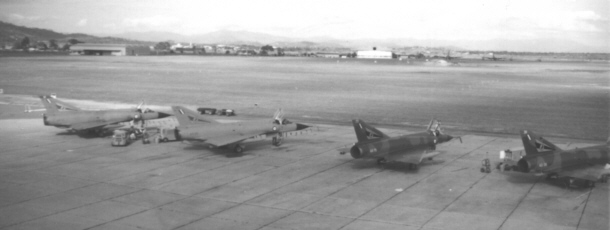 75Sqn Mirages in Townsville