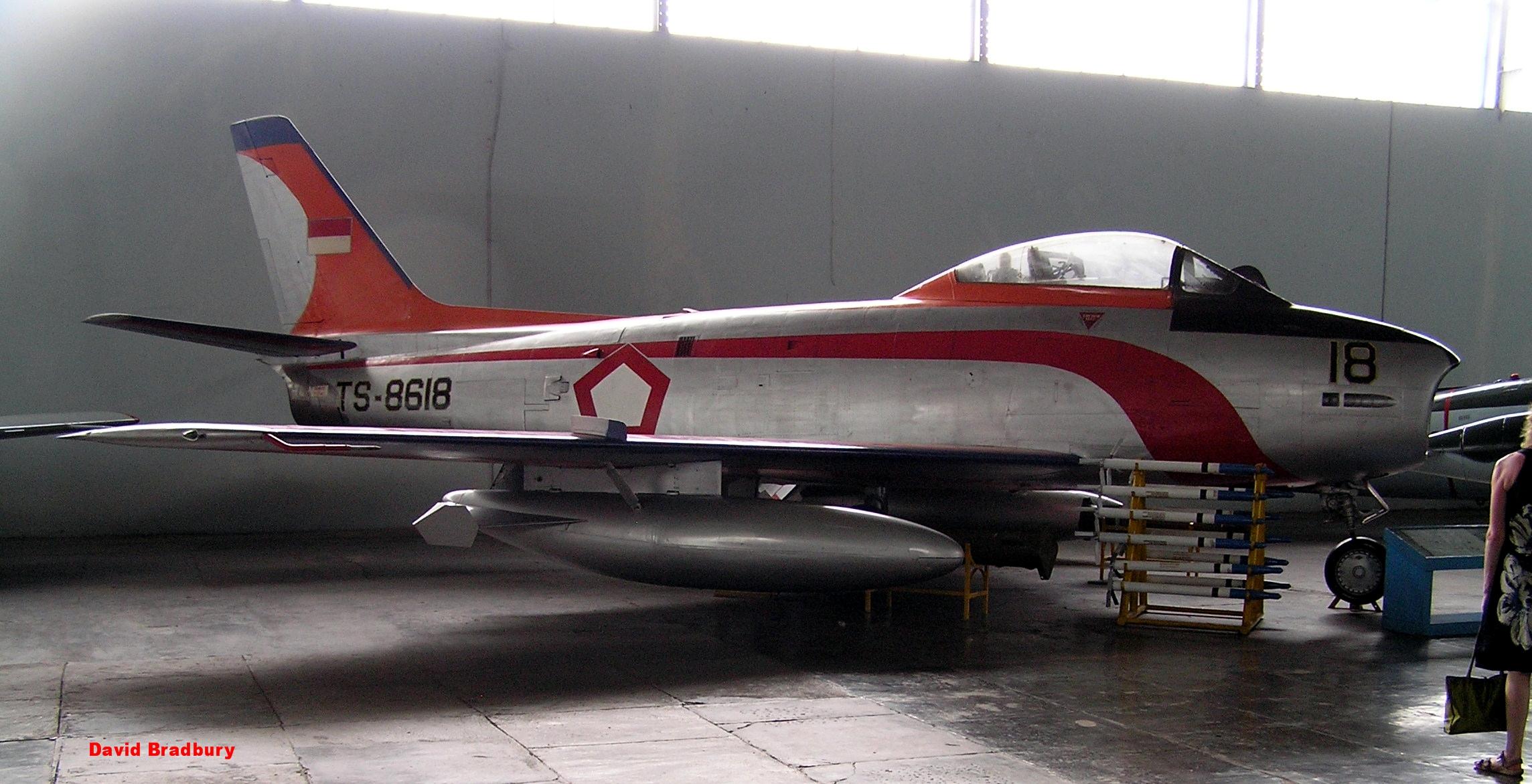 Ex-RAAF CAC Sabre